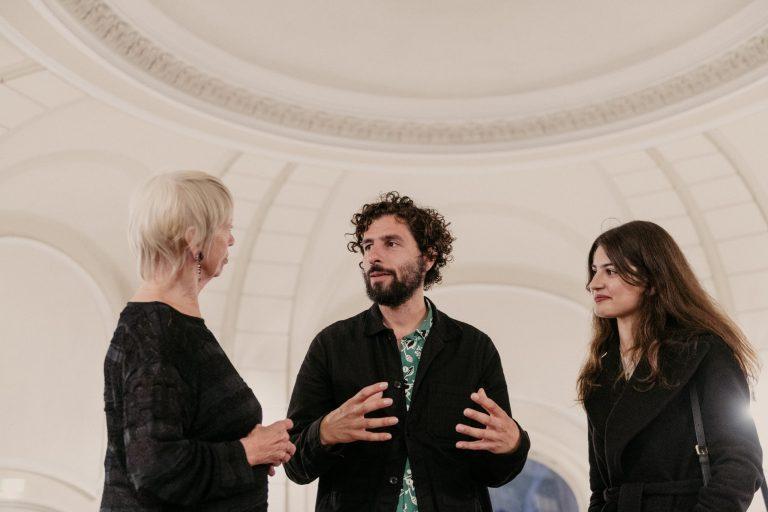 Jutta Conrad, José González, Prochista Sarshar © Robert Rieger
