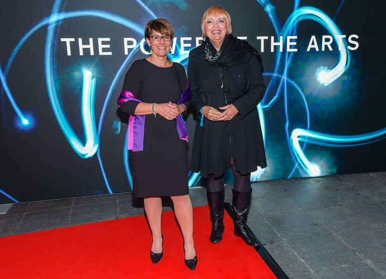 Elfriede Buben and Petra Roth © Eva Oertwig